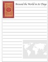 Homeschool Helper Online's Free Around the World in 80 Days Notebooking