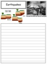 Homeschool Helper Online's Free Earthquakes Notebooking