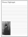 Homeschool Helper Online's Free Florence Nightingale Notebooking