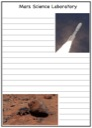 Homeschool Helper Online's Free Mars Science Laboratory Notebooking