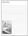 Homeschool Helper Online's Free Moby Dick Notebooking