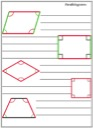 Homeschool Helper Online's Free Parallelograms Notebooking