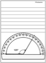 Homeschool Helper Online's Free Protractor Notebooking