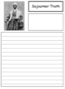 Homeschool Helper Online's Free Sojourner Truth Notebooking