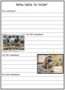 Homeschool Helper Online's Who Gets to Vote Notebooking