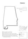 Homeschool Helper Online's Free Alabama Geography Worksheet
