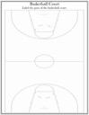 Homeschool Helper Online's Basketball Court Labeling Worksheet