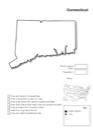 Homeschool Helper Online's Free Connecticut Geography Worksheet