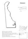 Homeschool Helper Online's Free Delaware Geography Worksheet