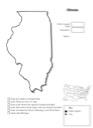 Homeschool Helper Online's Free Illinois Geography Worksheet